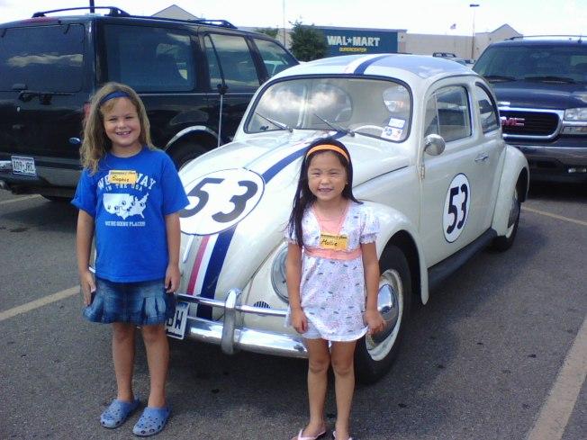 Herbie at Walmart